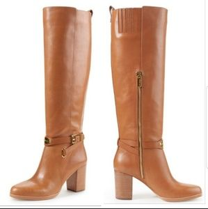 Michael kors arley Boot, brown alley riding boots